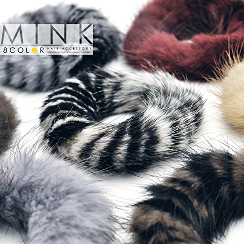 Hair texture of rabbit Fuwa Fu Wah feels good rabbit fur Chou Assorted set of 3