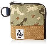 [チャムス] 財布 Square Coin Case・Sweat Nylon CH60-0693-Z097-00 Z097 ヘザーネイチャーブービーカモ