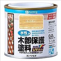 カンペハピオ 水性木部保護塗料 0.2L とうめい