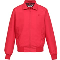 Fred Perry Reissues Made in England Harrington J1170: Red