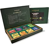 VAHDAM, Assorted Tea Bag Sampler - 8 Tea Flavors, 40 Tea Bags Gift Set | OPRAH's FAVORITE TEA | Black Tea, Green Tea, Oolong