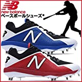 [ニューバランス] 野球スパイク L4040(現行モデル) L4040BB4D ブラック/ブルー 27.5 cm D