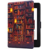 Huasiru Painting Case for Amazon Kindle Paperwhite (2012, 2013, 2015, 2016 and 2017 Versions) Cover with Auto Sleep/Wake