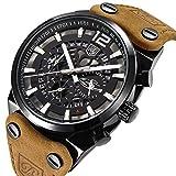 Best メンズ腕時計 - BENYAR 男性用 ミリタリークロノグラフクォーツ腕時計 Review