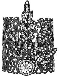 BABEYOND 1920s Flapper Bracelet Great Gatsby Leaf Pattern Roaring 20s Accessories Bracelet Jewelry