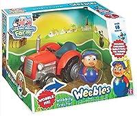 Weebledown Farm - Weebles - Le Tracteur + 1 Figurine Culbuto 5 cm