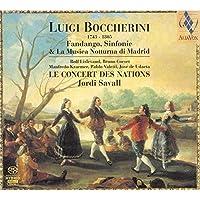 Boccherini: Fandango, Sinfonie, La Musica Notturna di Madrid by Jordi Savall (2006-05-09)