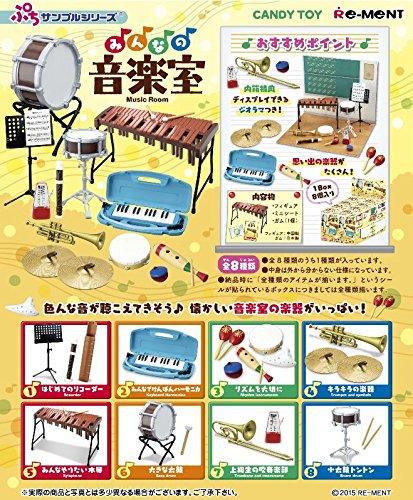 ぷちサンプルシリーズ みんなの音楽室 8個入りBOX(食玩)