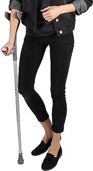 Soles Aluminum Forearm Crutch (SLS806BL) - Black