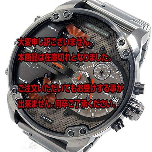 ディーゼル DIESEL ミスターダディ クロノ クオーツ メンズ 腕時計 DZ7315 ガンメタ