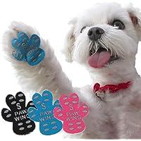 PAW WING パウ・ウイング 犬 用 パッド くつ ペット 靴下 滑り止め 肉球 保護 傷防止 すべり 止め フット…