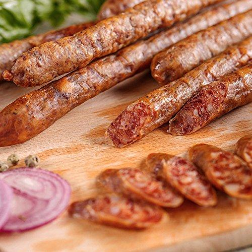 ミートガイ ドライサラミスティック【プレーン】(8本 80g) グライシンガー社 100%無添加 Additive-free Greisinger Air-Dried Salami Sticks Snack
