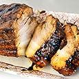 まっくろ煮豚400g チャーシュー 焼豚 焼き豚 厚切りブロック やきぶた ラーメン用 豚の角煮 豚肉