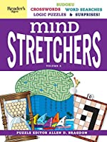 Reader's Digest Mind Stretchers Puzzle Book Vol. 4: Number Puzzles, Crosswords, Word Searches, Logic Puzzles and Surprises