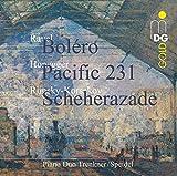 Ravel: Bolero / Honegger: Pacific 231 / Rimsky-Korsakov: Sheherazade by Piano Duo Trenkner-Speidel (2010-06-01)