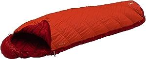 モンベル(mont-bell) 寝袋 バロウバッグ #3 サンライズレッド 左ジップ [最低使用温度1度] 1121273 SURD L/ZIP
