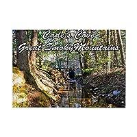 "CafePress–Great Smoky Mountainsカレンダー長方形マグネット–長方形マグネット、2"" x3""冷蔵庫マグネット"