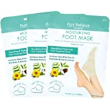Pure Radiance by CALA Moisturizing Foot Masks 3 Pairs.