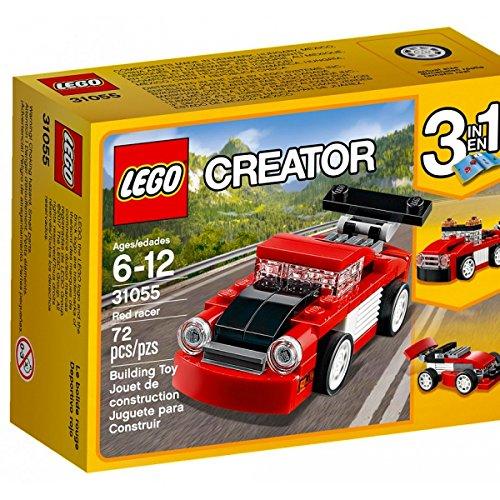 レゴ(LEGO) クリエイター 赤いレースカー 31055