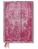 Paperblanks Dayplanners 2017 Jane Austen, Persuasion Midi Horizontal 12Months DE3406-3 英語版 正規輸入品