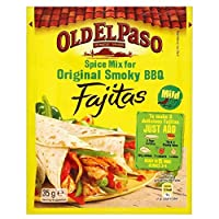 Old El Paso Spice Mix for Smoky BBQ Fajitas (35g) スモーキーバーベキューファヒータの古いエルパソのスパイスミックス( 35グラム)