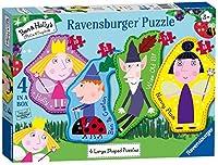 Ravensburgerベン&ホリー4大型ジグソーパズル(10,12,14,16pc)