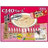 チャオ (CIAO) 猫用おやつ ちゅ~る 1歳までの子猫用バラエティ 14グラム (x 40)