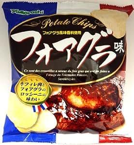 山芳製菓 ポテトチップス フォアグラ味 60g×12袋