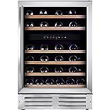 Grand Cru 46D Premium Wine Fridge | Portable Fridges 46 Bottle Capacity | Dual Temperature and Vibration Free Compressor - Si
