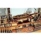1141 輸入木製帆船模型 マモリ社 MV47 エンデバー H.M.S. ENDEAVOUR