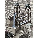 Buffalo Games–M。C。Escher–滝–1000ピースジグソーパズル