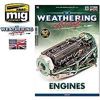 Ammo of Mig TWA The Weathering Aircraft (ウェザリングエアクラフト誌) 第3号 エンジン特集 英語 #5203