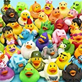 Lot of 50 Assorted Rubber Ducks [Toy]