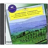 Mendelssohn: Symphonies 3 & 4 / Karajan, Berlin Philharmonic Orchestra