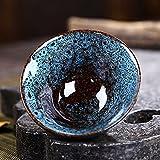 窯変 曜変 天目 茶碗 抹茶碗 手作り 窯作 建盞 和食器 酒器 料亭 油滴天目 茶道具 伝統工芸