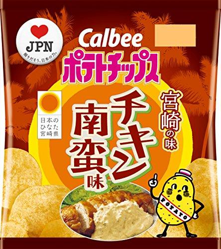 宮崎県 カルビーポテトチップスチキン南蛮味  12袋
