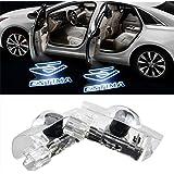Wxoauck 2 個セットカーテシーランプ トヨタ エスティマ 50系 ロゴ投影 ドアウェルカムライトLEDゴーストシャドーライト取り付け簡単 (for ESTIMA)
