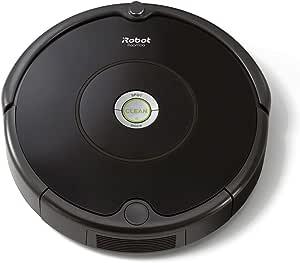 ルンバ 606 アイロボット ロボット掃除機 高速応答プロセスiAdapt搭載 ゴミ検知センサー 自動充電 ペットの毛 フローリング 畳にも ブラック R606060