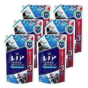 【ケース販売】 レノア 本格消臭 柔軟剤 スポーツフレッシュシトラスブルー 詰め替え 超特大 1320ml ×6個