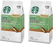 スターバックス コーヒー ディカフェ ハウス ブレンド 140g ×2袋
