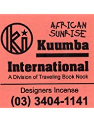 KUUMBA / クンバ『incense』(AFRICAN SUNRISE) (Regular size)