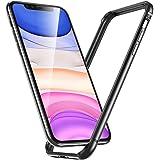 ESR iPhone 11 / iPhone XR ケース バンパー 6.1インチ [アルミ+シリコン 二重構造] 衝撃吸収 薄型 軽量 ストラップホール付き 電波に影響無し 耐衝撃 iPhone 11 / iPhone XR專用スマホケースバンパー