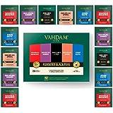 Vahdam, Black Tea Sampler, 5 Teas - Tea Variety Pack | Assorted Black Tea Bags | English Breakfast, Darjeeling, Assam, Earl G
