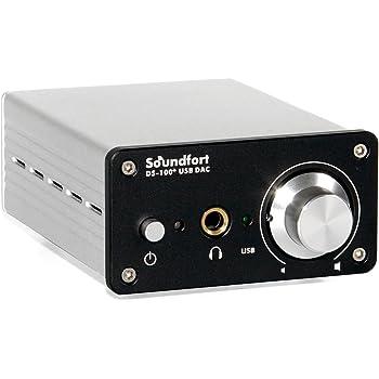 Soundfort DS-100+ ハイレゾ USB DAC(96kHz/24bit, DSD64対応)ヘッドフォンアンプ搭載