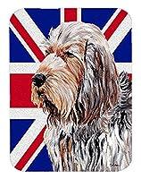 Caroline 's Treasures Otterhound with英語ユニオンジャックイギリス国旗マウスパッド/ホットパッド/五徳( sc9879mp )