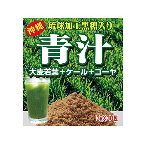 琉球ヘルシーフーズ 沖縄琉球加工黒糖入り青汁