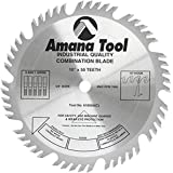"Amana Tool - (610504) Carbide Tipped Combination Ripping & Crosscut 10"" Dia x 50T 4+1, 15 Deg, 5/8 Bore"