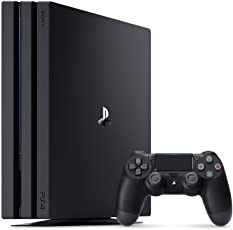 PlayStation 4 Pro ジェット・ブラック 1TB  (CUH-7200BB01) 【新価格版】