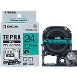 キングジム テープカートリッジ テプラPRO SJ24G マグネットテープ 24mm 緑