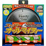 YAMASHIN スーパーオールマイティー 卓上・スライド丸ノコ用 190mmx72P SPT-YSD-190SOY